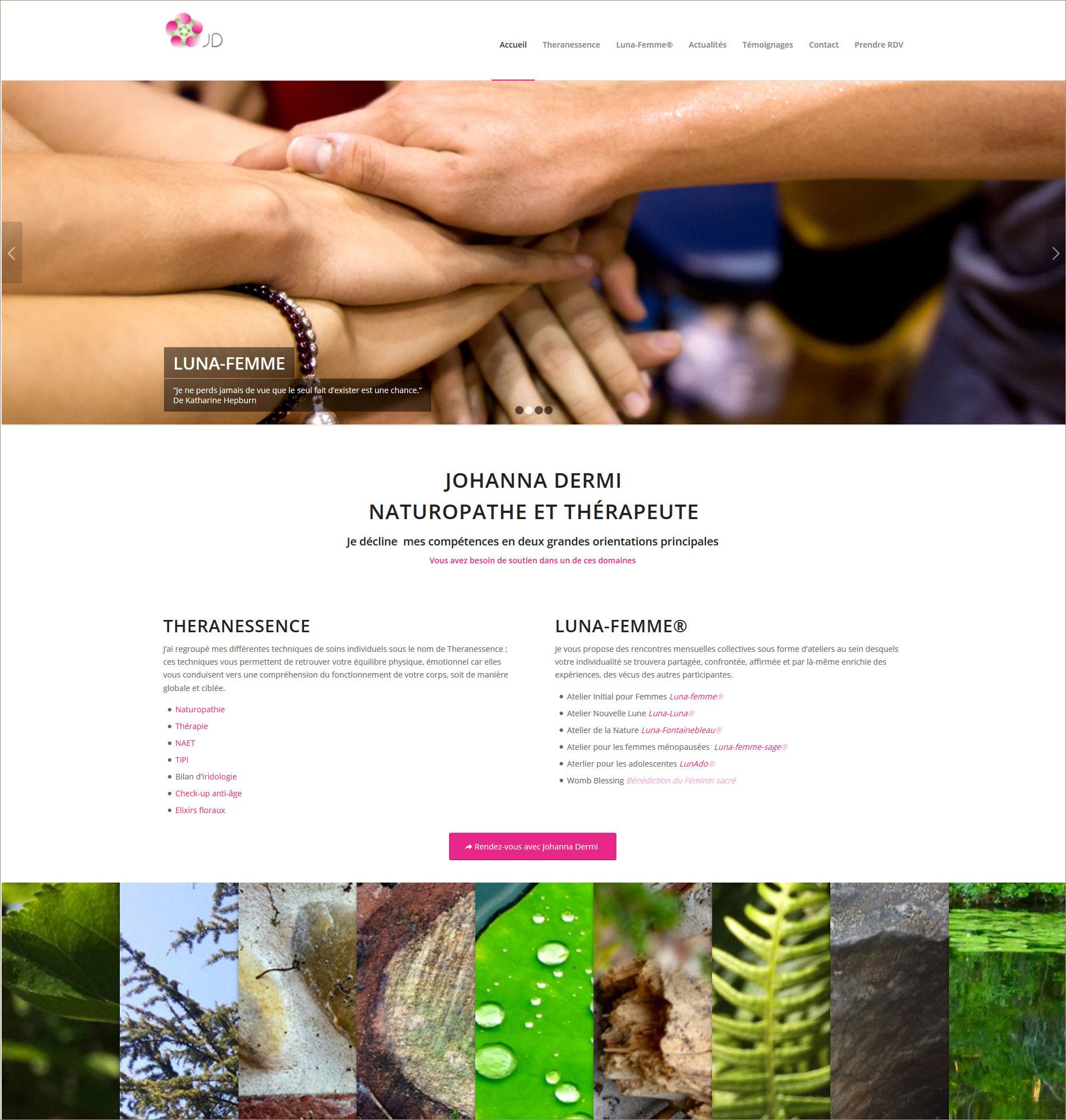 Création de site internet naturopathe